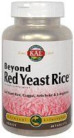 Beyond Red Yeast Rice - 60 - Tablet by Kal. Save 40 Off!. $16.29. Description:         • Red Yeast Rice    contains beneficial unsaturated fatty acids (>125 mg/g) including mono-    and polyunsaturated fatty acids, as well as proteins, amino acids and    phytonutrients. All are elements of a healthy diet. • Artichoke extract    has flavonoid constituents that demonstrate antioxidant activity and are    intended to provide nutritional support for healthy digestion. • Guggul,  ...