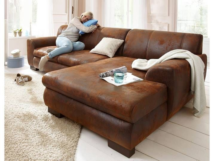 Home Affaire Eck Couch Nika Ohne Schlaffunktion Braun B T