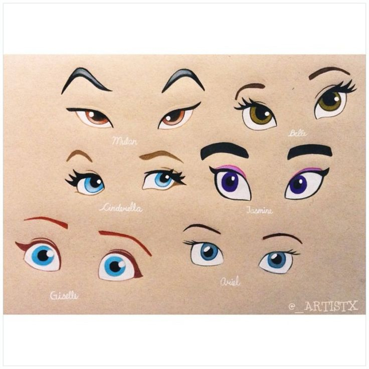 A few of my favorite Disney princess' eyes. Hope you guys like it!! . . I know that Giselle isn't a classical Disney princess but she's one of my favorite disney characters so I just had to include her!! . QOTD: who's your favorite Disney princess from the picture above? Mulan, Belle, Cinderella, Jasmine, Giselle or Ariel? Comment your choice below⬇️⬇️✌️ | MyMeedia -- Media Management Simplified