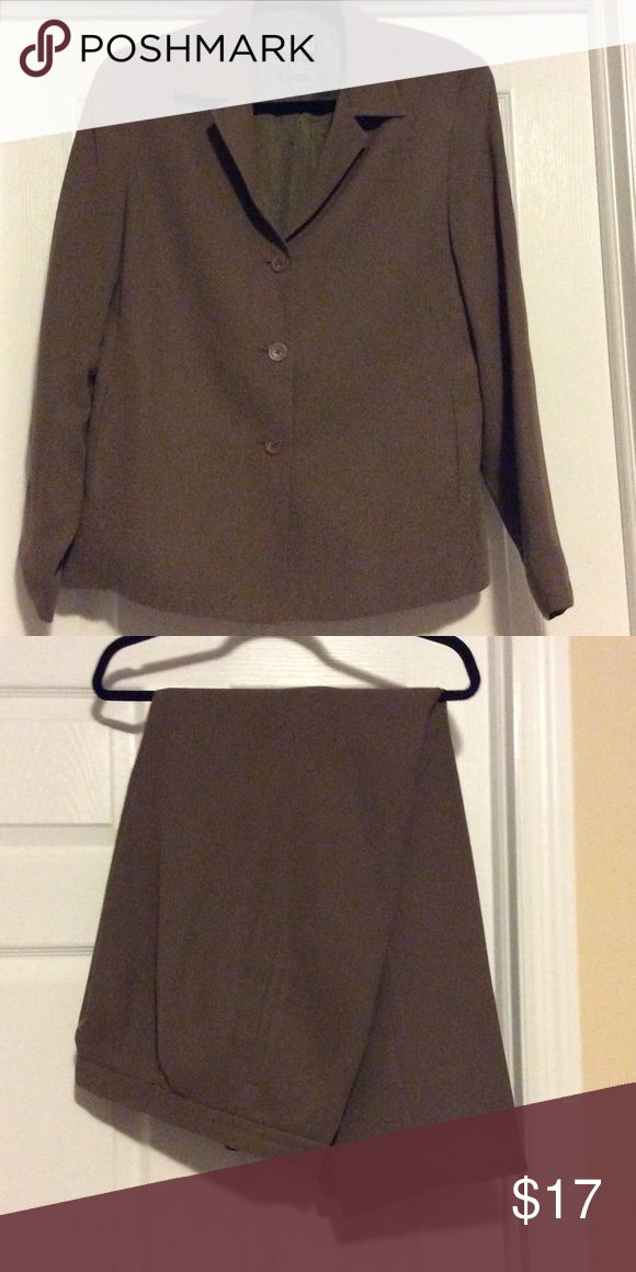 Rafaella Pants suit This suit is a taupe color Other