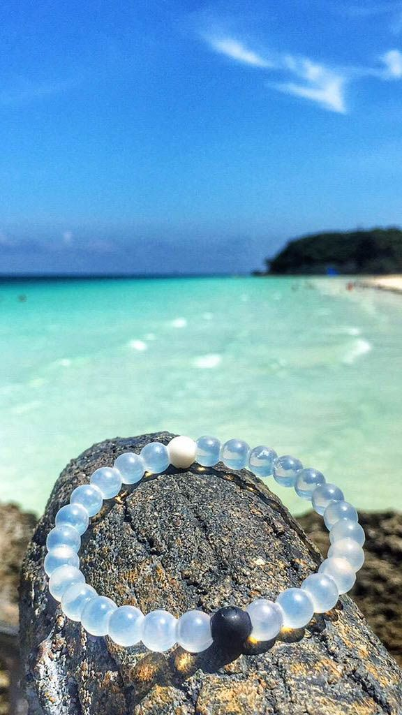 Infused with elements from the highest and lowest points on Earth. Love my new Lokai bracelet! #livelokai
