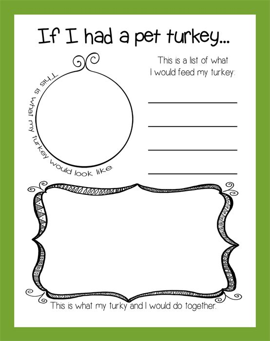 Reflective writing activity for thanksgiving