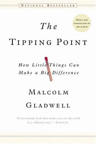 The Tipping Point -Malcolm Gladwell #outliers #success    --- http://www.developgoodhabits.com/Tipping-Point