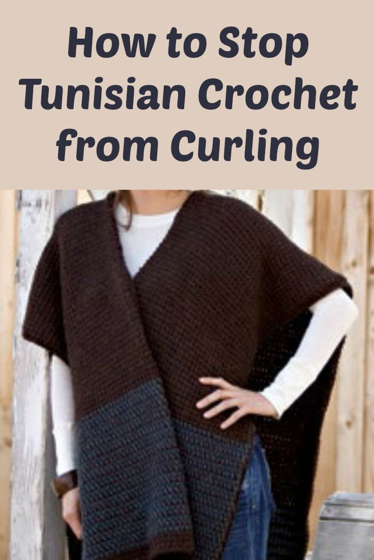 118 best tunisian crochet images on pinterest crafts home and tunisian crochet tips how to stop the dreaded tunisian curl crochet sweater patternsponcho bankloansurffo Images
