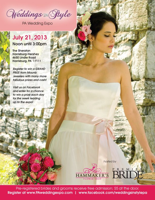 Weddings In Style PA Bridal Expo July 21 2013