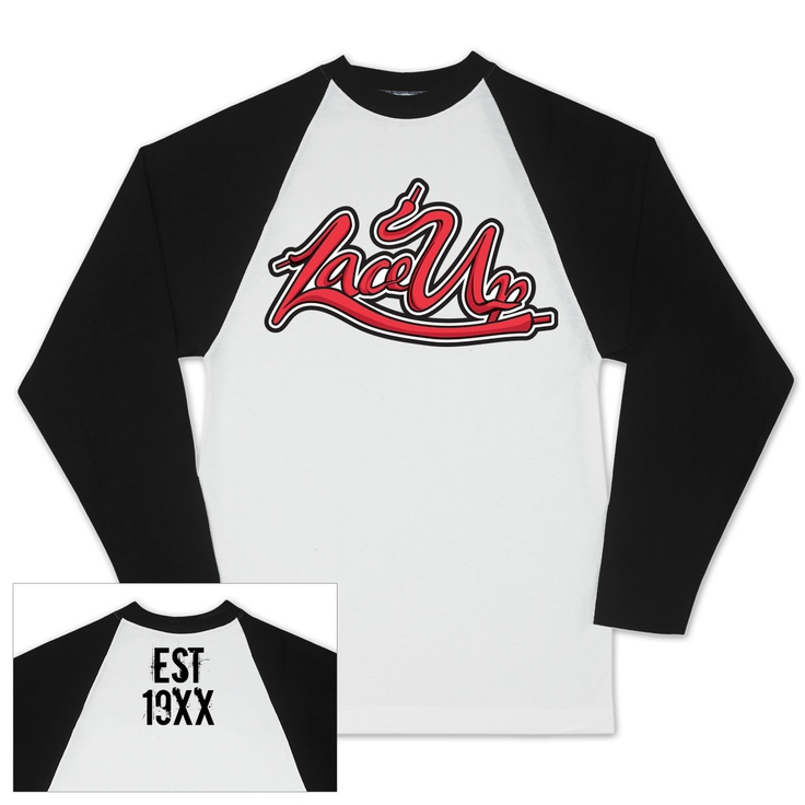 MGK Lace Up Baseball Raglan