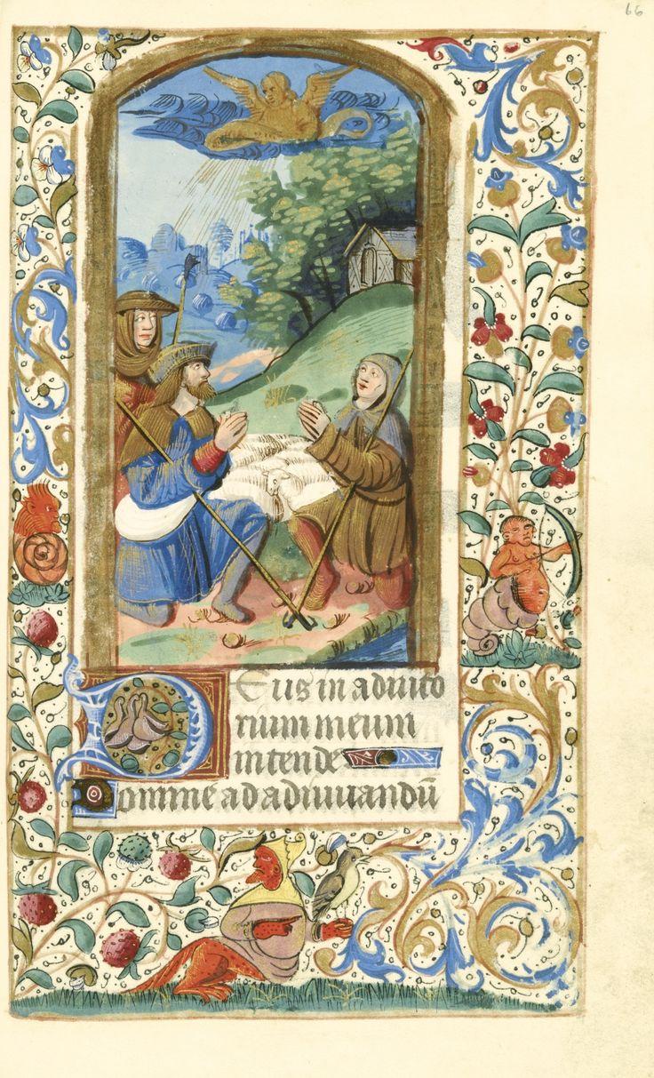 BOOK OF HOURS, use of Paris, illuminated manuscript on vellum [ Northern France (Paris), c.1520-30]
