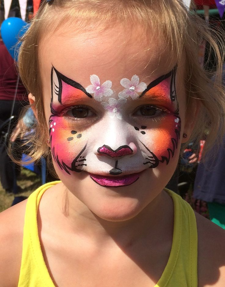 5 of the coolest cat face painting designs - click through for more