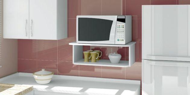 M s de 1000 ideas sobre estante del microondas en - Estante para microondas ...