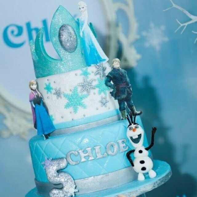 1000+ images about Disney Frozen Cake ideas on Pinterest ...