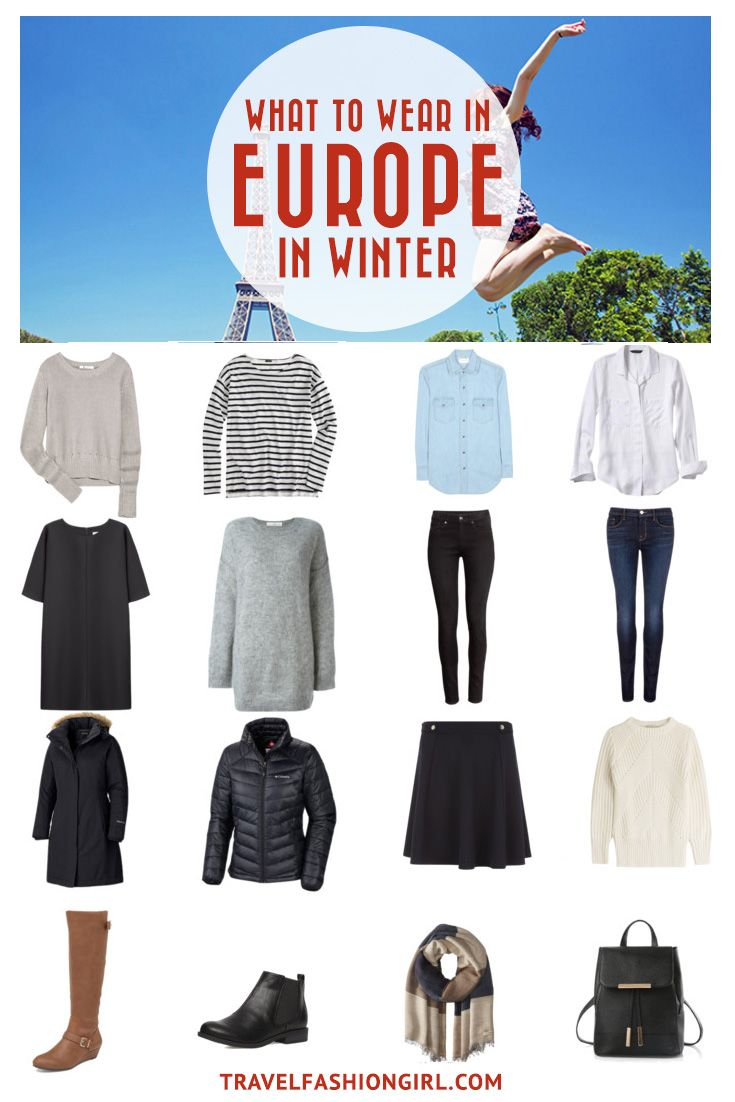 Planning a trip to Europe this Winter? From Budapest to Milan to Paris, this packing list has you covered! Click the image to get a comprehensive packing guide for traveling to Europe in the Winter. | TravelFashionGirl.com