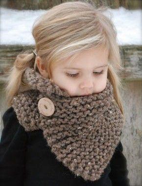 sjaal met mooie knoop