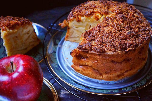 Φθινοπωρινό Κέικ Μήλου με Stroopwafel