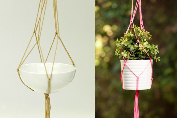 HOW TO: MACRAME PLANT HOLDER - The Home Magazine