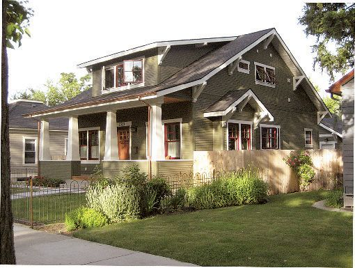 2009 craftsman bungalow yes is located in boise id historic north end district bungalow homes - Craftsman Bungalow Home Exterior