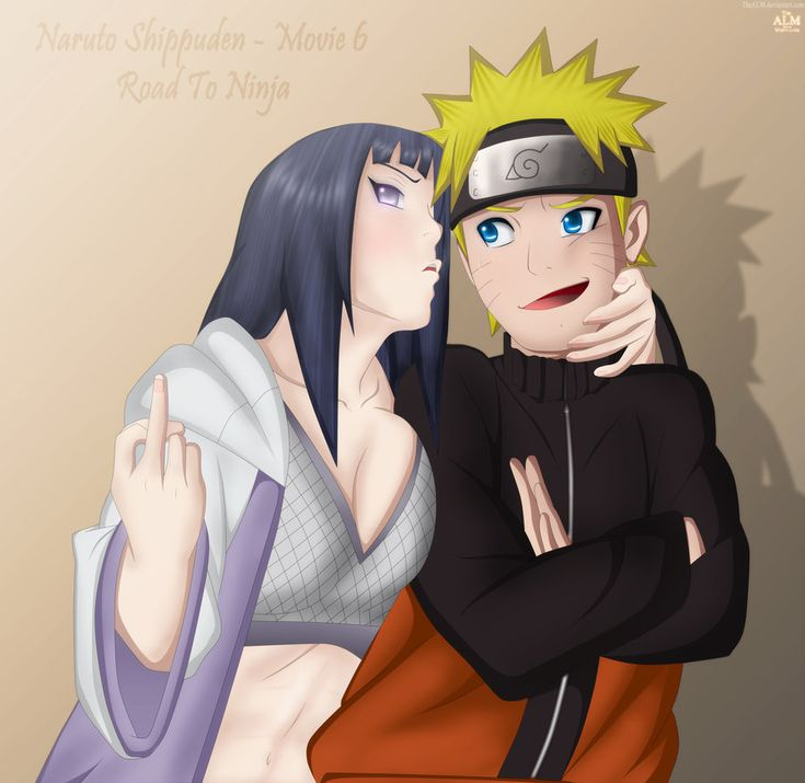 Naruto Hinata Movie 6 Road To Ninja by TheALM.deviantart.com on @DeviantArt