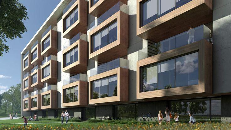 Edificios residenciales en Pamplona - ARQZONE