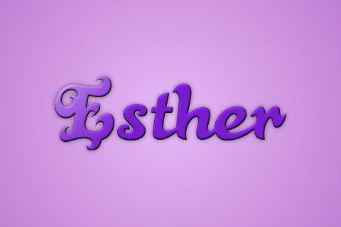 Significado de Esther o Ester