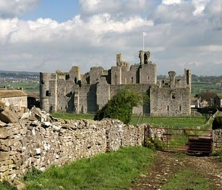 Middleham Castle, North Yorkshire, was built by Robert Fitzrandolph, 3rd Lord of Middleham and Spennithorne, commencing in 1190.  It was once the home of Richard III.