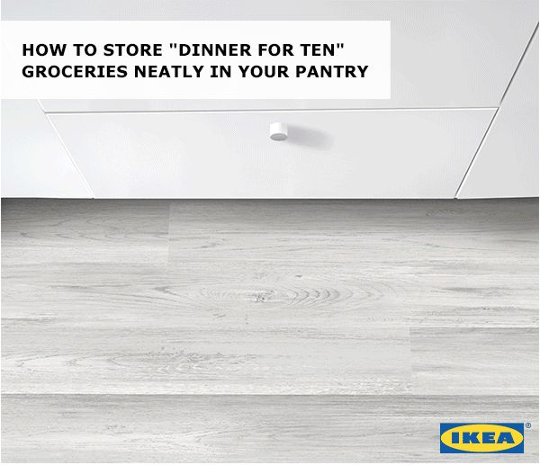 Bulk items don't have to be bulky when you can fit a dozen containers perfectly in a single drawer! Find IKEA food storage and more ideas to prep and cook your holiday feast in our Holiday Prep Guide.