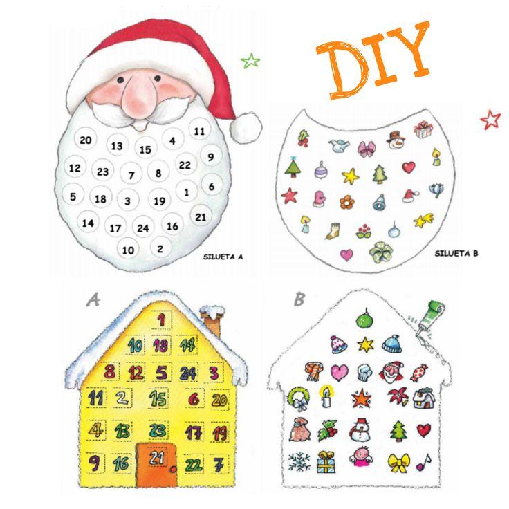 Calendario de Adviento DIY - paso a paso - Navidad - Gemser Libros Personalizados