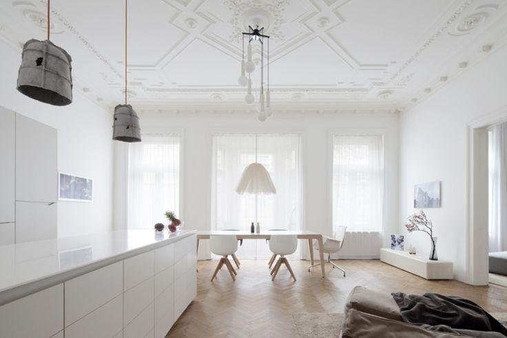 Apartment H\M in Wien Altbauwohnung, Sanierung und Geschafft