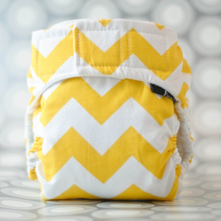 CUSTOM Chevron AIO Cloth Diaper (Medium). $19.75, via Etsy.
