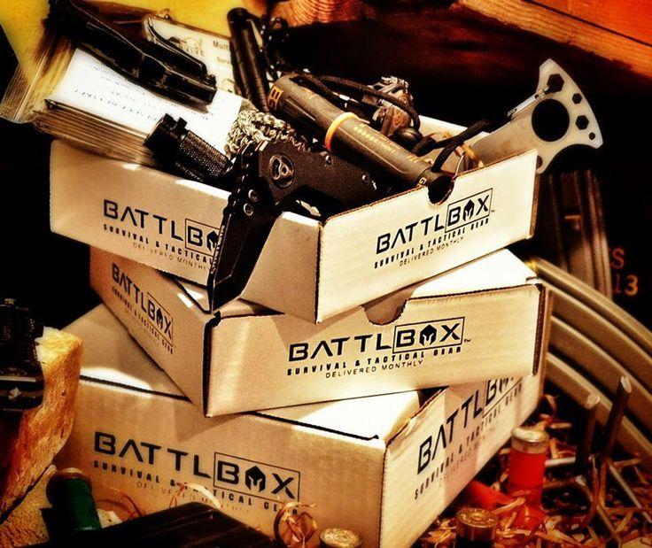 BattlBox Man crates, Tactical gear, Subscription boxes