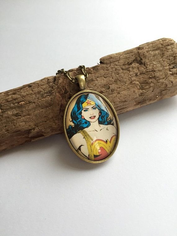 Wonder Women Necklace by BellusJewellery on Etsy