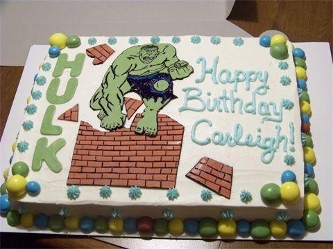 7 best Hulk Party images on Pinterest 4th birthday Hulk party
