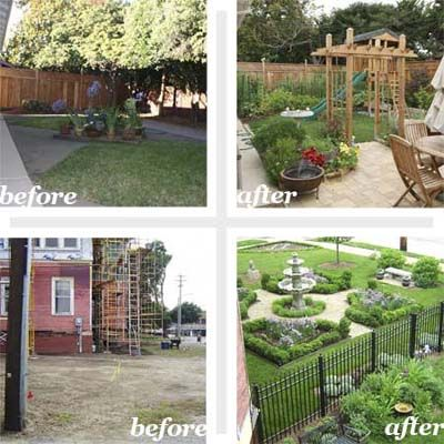 Best Yard Before And Afters 2010