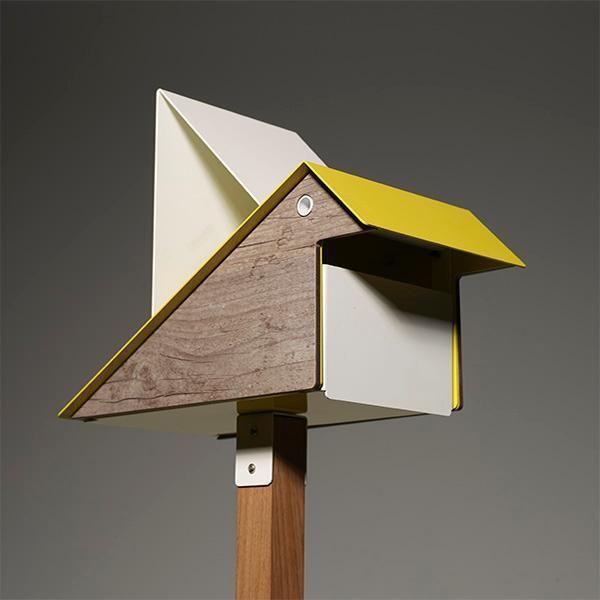 Caixa postal com design de passarinho! | Design do Rio | Design e decoração