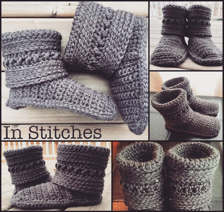 "21 Likes, 1 Comments - Stacey L (@inslstitches) on Instagram: ""Custom order Fold Over-High Cuff House Slippers will be in the mail tomorrow morning  I offer 3…"""