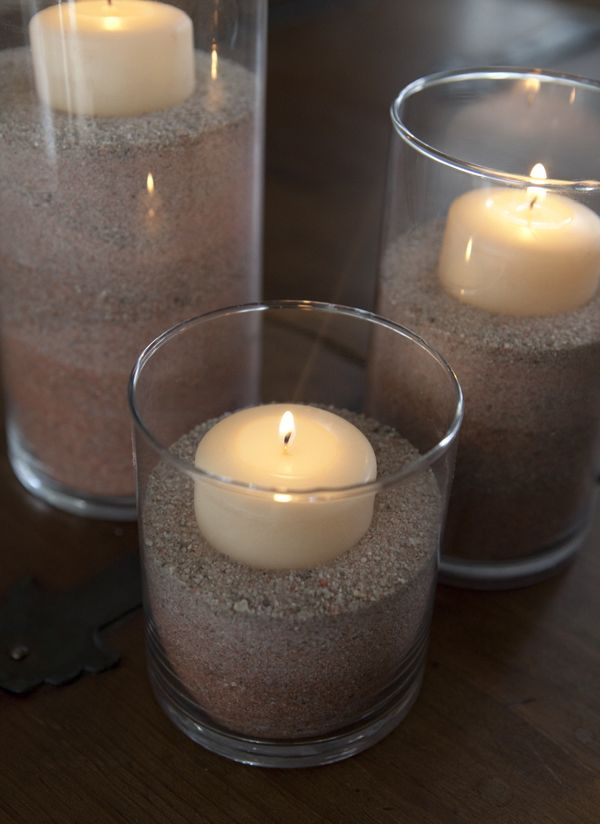 #DIY wedding ~ quick and easy ombre colored sand using food coloring!