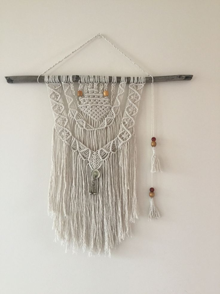 Macrame Wall Hanging, 70s Style Crafts Boho Weddings