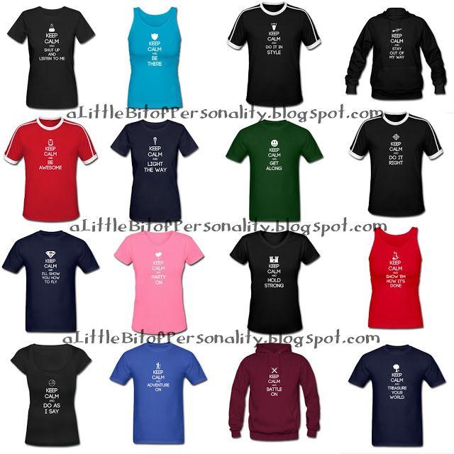 A Little Bit of Personality: Myers Briggs personality t-shirts. ISTJ, ISFJ, INFJ, INTJ, ISTP, ISFP, INFP, INTP, ESTP, ESFP, ENFP, ENTP, ESTJ, ESFJ, ENFJ, ENTJ
