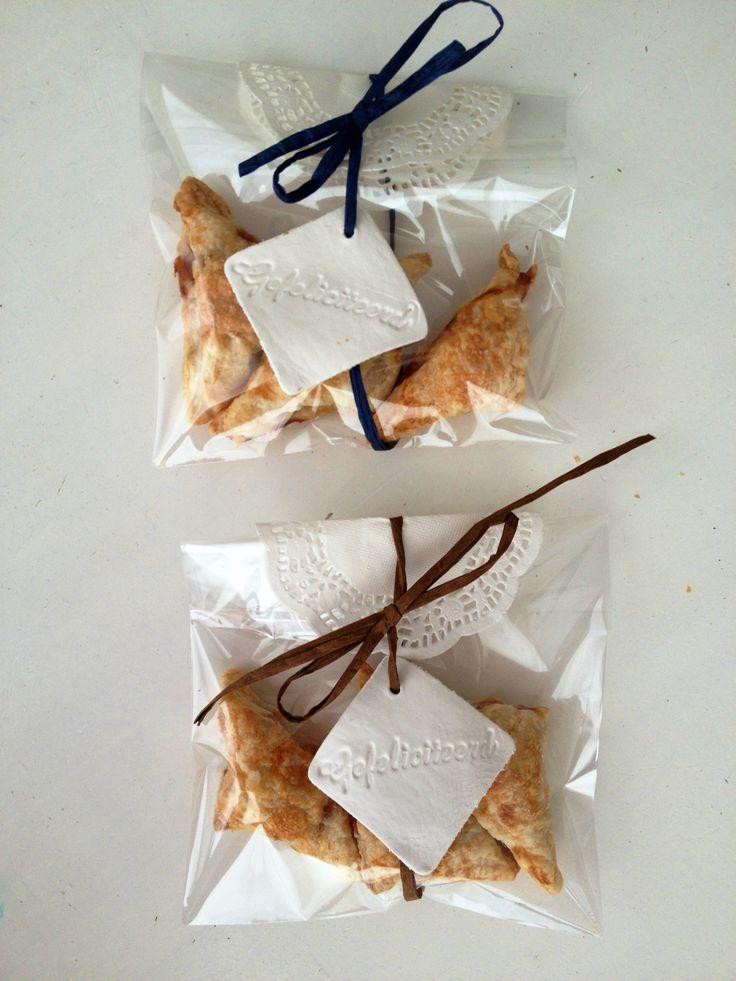 DIY cadeau voor juf. Mini appelflapjes, leuk en lekker!