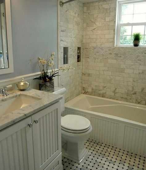 Cape Cod Chic Bathroom.. Love This For A Guest/spare