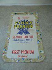 VTG Flour Sack Feed Sack~JUVENILE~UNUSED~NOS~Label~Advertising~sailboats&More