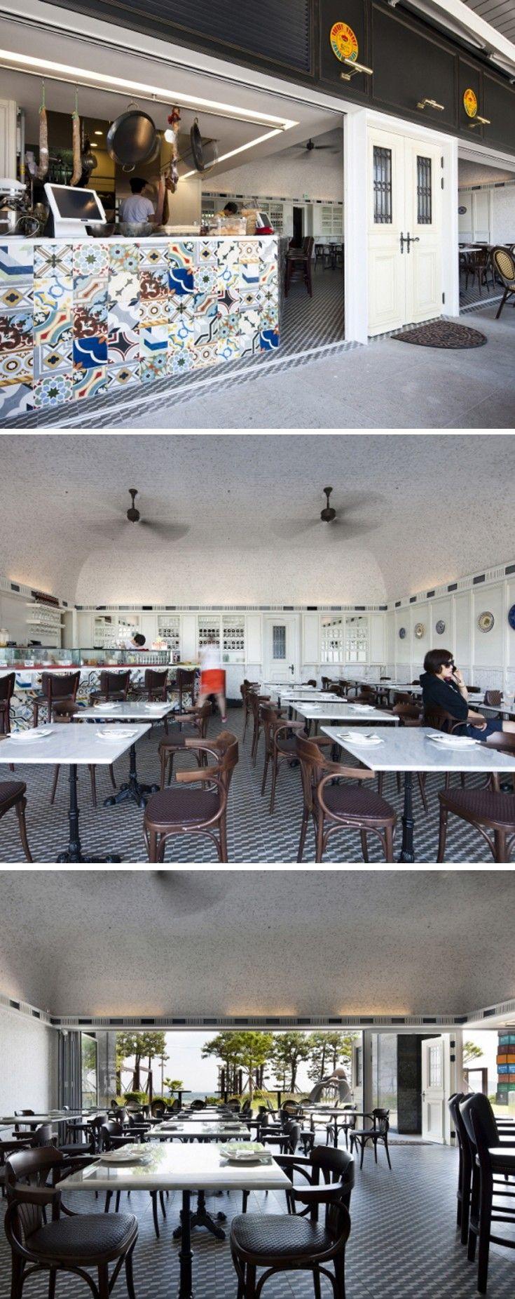 [No.69 스페인클럽 부산 해운대] 스페인 레스토랑 인테리어 33평, 유럽 디자인
