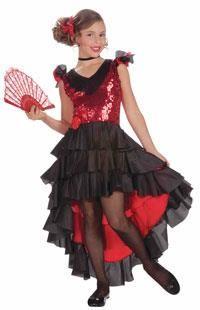 Мексиканский костюм для девочки