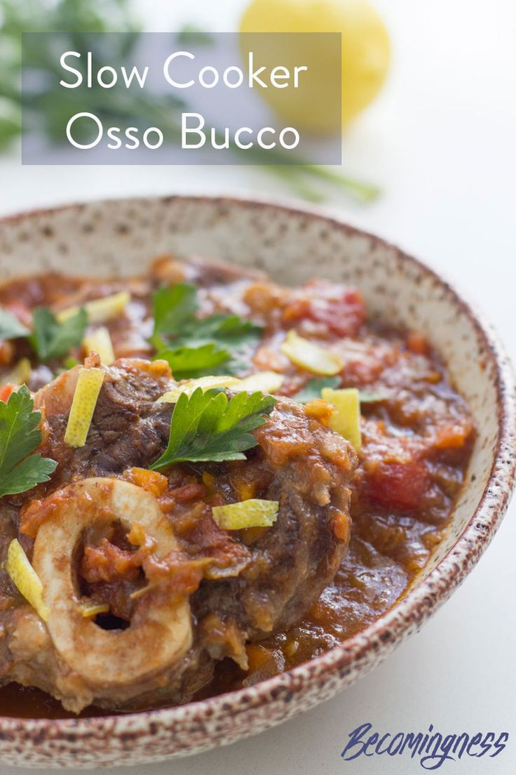 Best 25+ Osso bucco slow cooker ideas on Pinterest | Veal osso ...