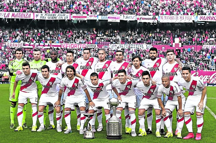 Plantel lleno de campeones. #River2015 #Libertadores #Suruga