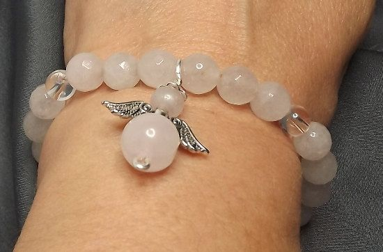 Rose Quartz For Love / Harmony / Emotional by Mammybluebeads