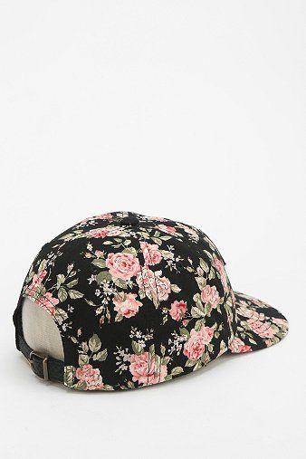 OBEY Floral Snapback Hat