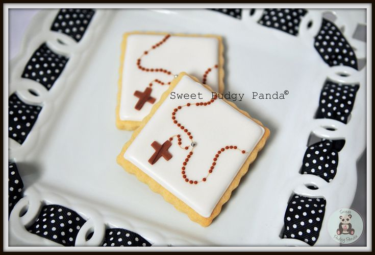 Rosary Cookies | I was trying to think of a simple religious… | Flickr