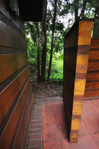 Herbert Jacobs House I. Frank Lloyd Wright. Madison, Wisconsin, 1937. The first Usonian home.