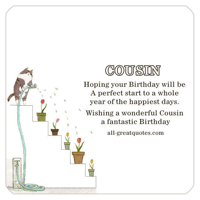 1000+ Ideas About Happy Birthday Cousin On Pinterest