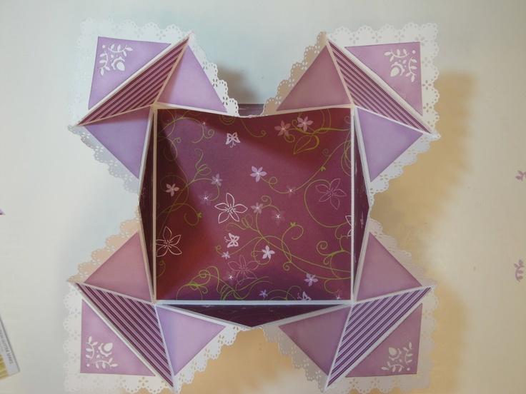 Tutorial for Handkerchief Fold Card