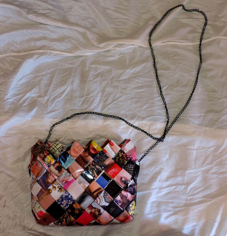 wrapper magazine purse @filotheychihiro